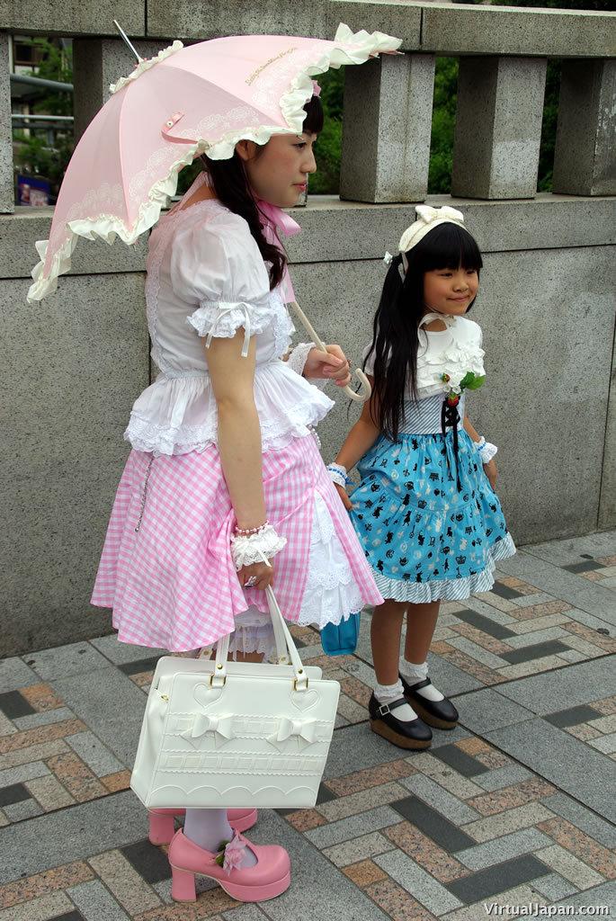 Little Japanese Girl Fashion