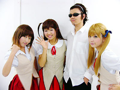 school rumble cosplayers