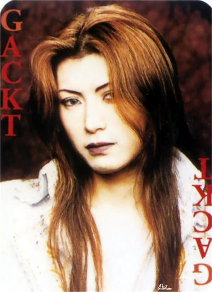 Gackt Pretty Hair Japan Pictures